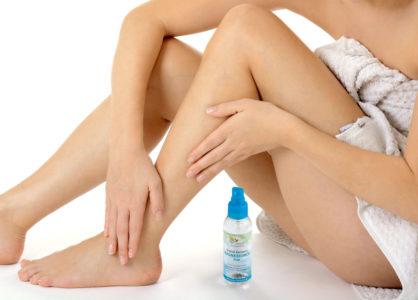 Entspannende Massage mit Zechstein Magnesiumöl