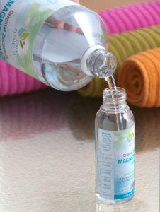 Pumpflasche mit Verdünnungsskala zur einfachen Anwendung von Magnesiumöl