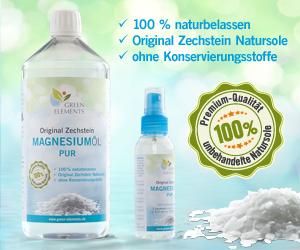 Original Zechstein Magnesiumöl PUR aus der Natursole